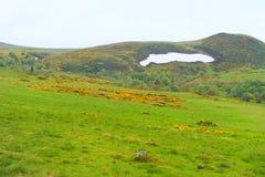 Τοπίο γαλλικό Auvergne Massif du Sancy στοκ εικόνες