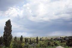 Τοπίο γηπέδων του γκολφ Στοκ εικόνες με δικαίωμα ελεύθερης χρήσης