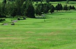 τοπίο γκολφ Στοκ Εικόνες