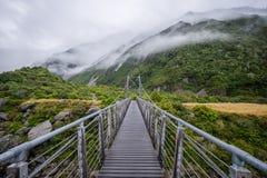 Τοπίο γύρω από την ΑΜ Μάγειρας/εθνικό πάρκο Aoraki, Νέα Ζηλανδία Στοκ φωτογραφίες με δικαίωμα ελεύθερης χρήσης