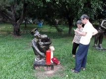 Τοπίο γλυπτών σε Shenzhen Στοκ εικόνες με δικαίωμα ελεύθερης χρήσης