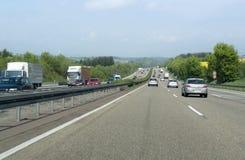 Τοπίο εθνικών οδών στη νότια Γερμανία Στοκ εικόνες με δικαίωμα ελεύθερης χρήσης