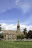 τοπίο εκκλησιών αγροτικ Στοκ Εικόνες