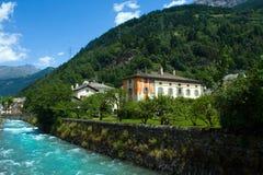 τοπίο Ελβετία Στοκ Φωτογραφίες
