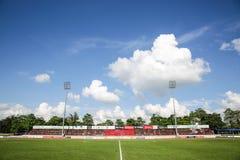 Τοπίο ενωμένου του Khonkaen αγωνιστικού χώρου ποδοσφαίρου 05-09-15 Στοκ φωτογραφία με δικαίωμα ελεύθερης χρήσης