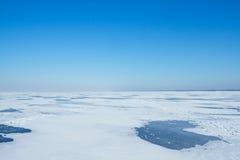 Τοπίο ενός χειμώνα Στοκ Φωτογραφία