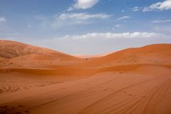 Τοπίο ερήμων του Μαρόκου κατάλληλο για τα υπόβαθρα και τη διαφήμιση στοκ εικόνες