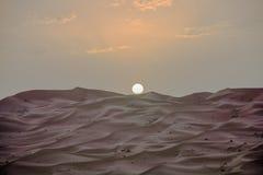 Τοπίο ερήμων του Μαρόκου κατάλληλο για τα υπόβαθρα και τη διαφήμιση στοκ φωτογραφία με δικαίωμα ελεύθερης χρήσης