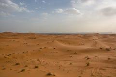 Τοπίο ερήμων του Μαρόκου κατάλληλο για τα υπόβαθρα και τη διαφήμιση στοκ φωτογραφίες