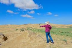 Τοπίο ερήμων στοκ εικόνες με δικαίωμα ελεύθερης χρήσης