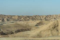 Τοπίο ερήμων Judean κοντά στη νεκρή θάλασσα στο Ισραήλ Στοκ φωτογραφία με δικαίωμα ελεύθερης χρήσης