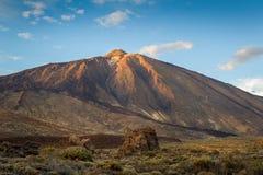 Τοπίο ηφαιστείων Teide Στοκ Εικόνα