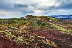 τοπίο ηφαιστειακό Στοκ Φωτογραφία