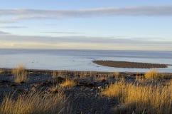 Τοπίο θάλασσας στην πόλη του Rio Grande Στοκ φωτογραφία με δικαίωμα ελεύθερης χρήσης