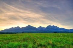 Τοπίο θερινών βουνών Στοκ εικόνα με δικαίωμα ελεύθερης χρήσης