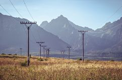 Τοπίο θερινών βουνών Στοκ Φωτογραφίες