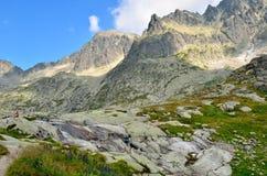 Τοπίο θερινών βουνών Στοκ φωτογραφία με δικαίωμα ελεύθερης χρήσης
