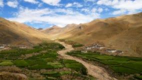τοπίο Θιβέτ Στοκ Φωτογραφία