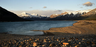 Τοπίο λιμνών βουνών Στοκ φωτογραφίες με δικαίωμα ελεύθερης χρήσης