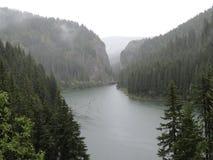 Τοπίο λιμνών βουνών στοκ φωτογραφίες