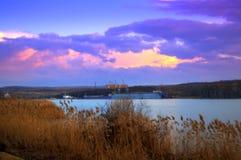 Τοπίο λιμνών της Βάρνας Στοκ εικόνα με δικαίωμα ελεύθερης χρήσης