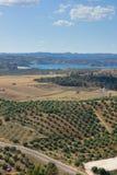 τοπίο Ισπανία της Ανδαλουσίας Στοκ φωτογραφία με δικαίωμα ελεύθερης χρήσης