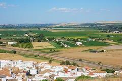 τοπίο Ισπανία της Ανδαλουσίας Στοκ Φωτογραφία