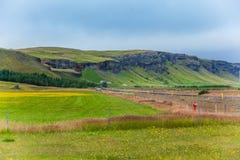 Τοπίο Ισλανδία Στοκ Εικόνες
