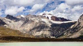 Τοπίο κοβαλτίου Nam στο οροπέδιο του Θιβέτ Στοκ φωτογραφίες με δικαίωμα ελεύθερης χρήσης