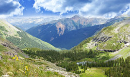 Τοπίο κοιλάδων βουνών του Κολοράντο Στοκ εικόνες με δικαίωμα ελεύθερης χρήσης