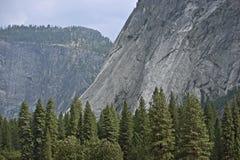 Τοπίο κοιλάδων Yosemite Στοκ Εικόνες