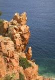 Τοπίο κοντά σε Arbatax Σαρδηνία Ιταλία Στοκ φωτογραφίες με δικαίωμα ελεύθερης χρήσης
