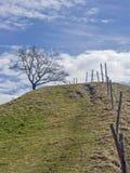 Τοπίο κοντά σε Murnau στην ανώτερη Βαυαρία στοκ εικόνα