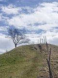 Τοπίο κοντά σε Murnau στην ανώτερη Βαυαρία στοκ εικόνες