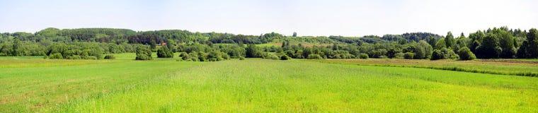 Τοπίο κοντά στην πόλη Kurkliai στην περιοχή Anyksciai Στοκ φωτογραφία με δικαίωμα ελεύθερης χρήσης