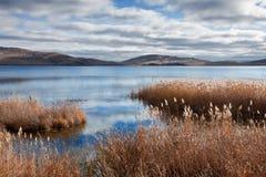 τοπίο λιμνών φθινοπώρου Στοκ φωτογραφίες με δικαίωμα ελεύθερης χρήσης