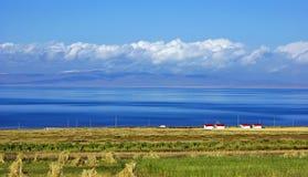 τοπίο λιμνών στοκ εικόνα