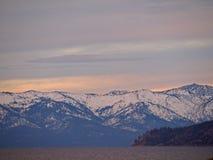 τοπίο λιμνών tahoe Στοκ Εικόνα