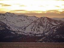 τοπίο λιμνών tahoe Στοκ Εικόνες