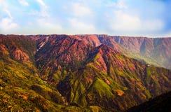 Τοπίο, λόφοι ανατολικού Khasi, Meghalaya Στοκ Εικόνες