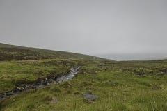 Τοπίο μέσα στο πέρασμα της διαδρομής βοοειδών Στοκ φωτογραφία με δικαίωμα ελεύθερης χρήσης
