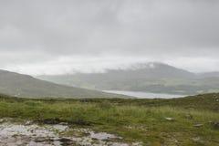 Τοπίο μέσα στο πέρασμα της διαδρομής βοοειδών Στοκ εικόνες με δικαίωμα ελεύθερης χρήσης