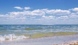 τοπίο με τη θάλασσα Στοκ Φωτογραφίες
