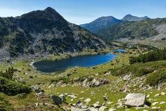 Τοπίο με τις λίμνες Chairski, βουνό Pirin, Βουλγαρία στοκ εικόνες με δικαίωμα ελεύθερης χρήσης