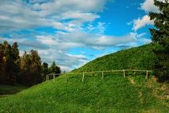 Τοπίο με τους λόφους Στοκ φωτογραφίες με δικαίωμα ελεύθερης χρήσης