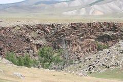 τοπίο Μογγόλος στοκ εικόνες