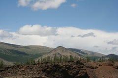 τοπίο Μογγόλος Στοκ εικόνα με δικαίωμα ελεύθερης χρήσης