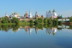 τοπίο Μόσχα του Κρεμλίνου izmailovo Στοκ Εικόνες