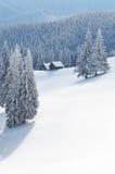 Τοπίο νεράιδων το χειμώνα Στοκ φωτογραφία με δικαίωμα ελεύθερης χρήσης
