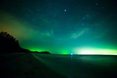 τοπίο νησιών παραλιών τροπι& Στοκ φωτογραφία με δικαίωμα ελεύθερης χρήσης